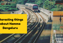 things about Bangalore