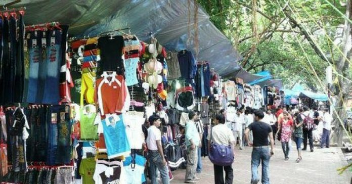 shopping streets of mumbai