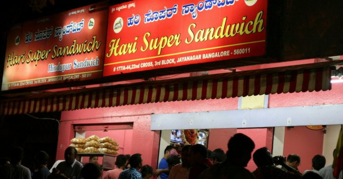 Foods in Bangalore