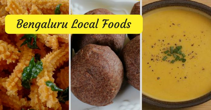 Bangalore Local Foods