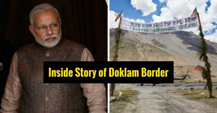 Doklam Border issue