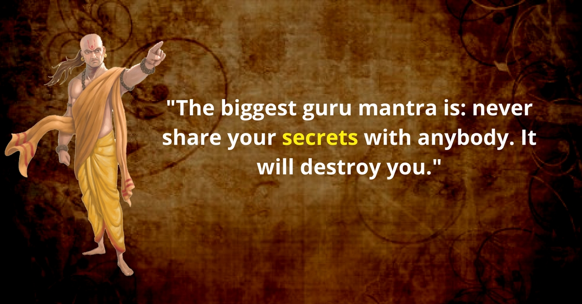 quotes by chanakya you should consider and internalize for your
