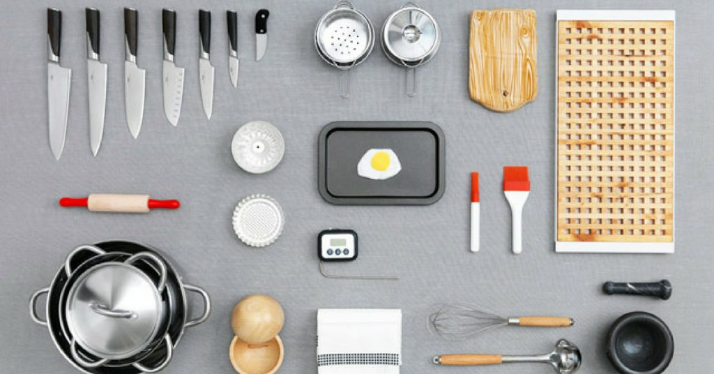 how to pack kitchenware