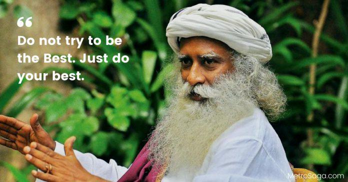 quotes by sadhguru Sadhguru Quotes
