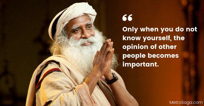 Quotes by Sadhguru