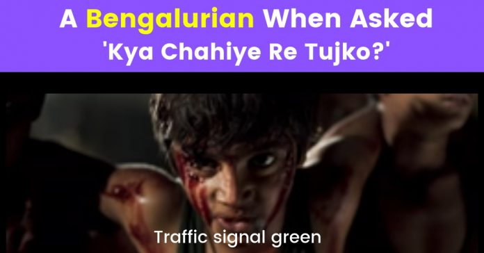 memes on bangalore traffic
