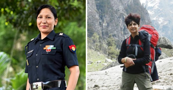women from indian armed forces