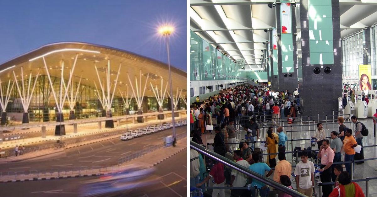 bangalore airport passengers