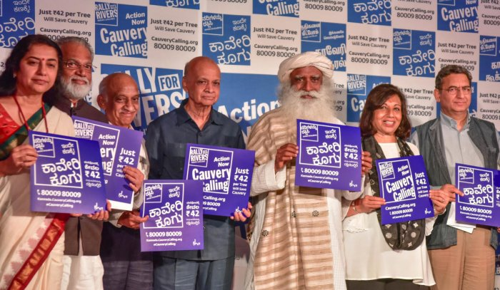 Cauvery Calling Campaign: Sadhguru To Address Public On Sept. 8 In Bengaluru.