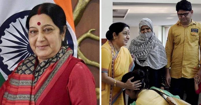 facts about sushma swaraj