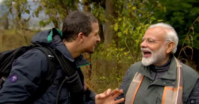 Man vs Wild With Bear Grylls And Prime Minister Modi