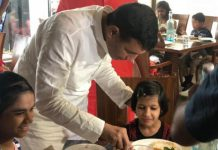 MP Minister Takes Underprivileged Kids For Lunch On Diwali